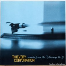 CDs de Música: THIEVERY CORPORATION – SOUNDS FROM THE THIEVERY HI-FI. Lote 84119288