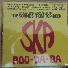 CDs de Música: SKA BOO DA BA TOP SOUNDS FROM TOP-DECK CD VOLUME ONE. Lote 84131880