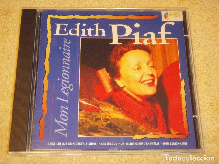 EDITH PIAF ( MON LEGIONNAIRE ) HOLANDA CD (Música - CD's Melódica )