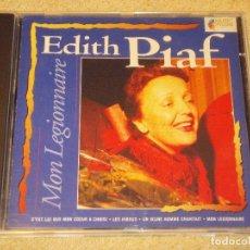 CDs de Música: EDITH PIAF ( MON LEGIONNAIRE ) HOLANDA CD. Lote 84156724