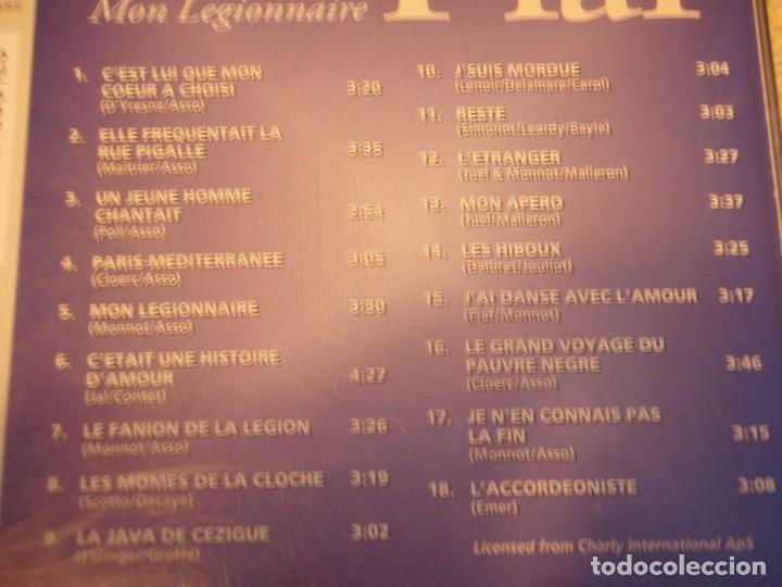 CDs de Música: EDITH PIAF ( MON LEGIONNAIRE ) HOLANDA CD - Foto 2 - 84156724