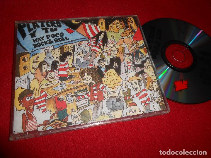 PLATERO Y TU HAY POCO ROCK&ROLL CD SINGLE 1994 EDICION ESPAÑOLA SPAIN FITO Y FITIPALDIS (Música - CD's Rock)