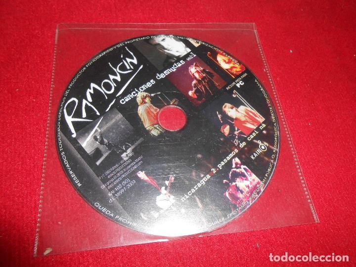 RAMONCIN CANCIONES DESNUDAS VOL.1 NICARAGUA/PASAMOS DE CASI NA CD SINGLE 2003 SPAIN (Música - CD's Rock)