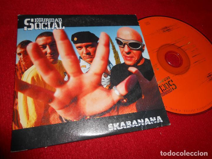 SEGURIDA SOCIAL SKABANANA CD SINGLE 1999 PROMO EDICION ESPAÑOLA SPAIN (Música - CD's Rock)