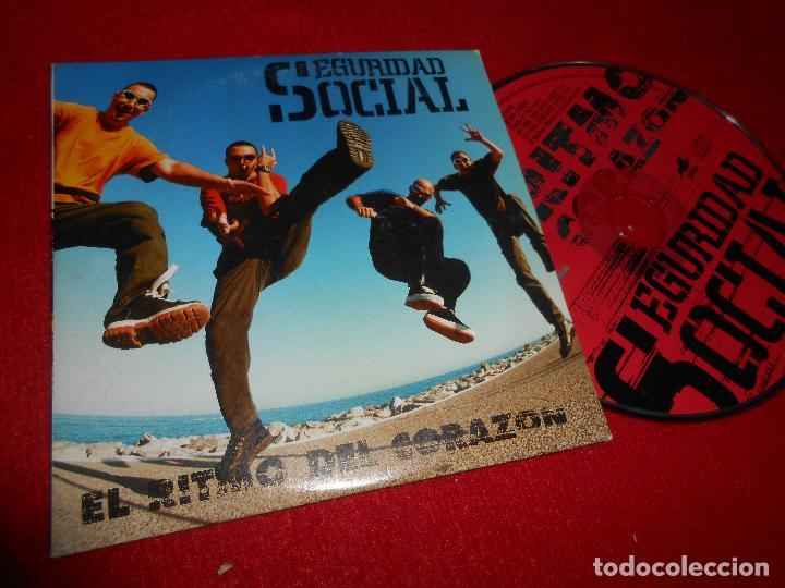 SEGURIDA SOCIAL EL RITMO DEL CORAZON CD SINGLE 1999 PROMO EDICION ESPAÑOLA SPAIN (Música - CD's Rock)
