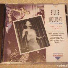 CDs de Música: BILLIE HOLIDAY ( THE LADY SINGS ) 1992-EEC CD. Lote 84183544