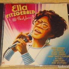 CDs de Música: ELLA FITZGERALD ( ALL THAT JAZZ ) 1990-GERMANY PABLO CD. Lote 84185380