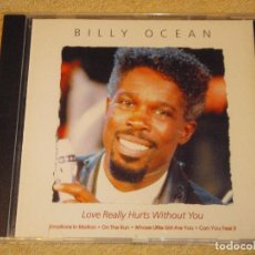 CDs de Música: BILLY OCEAN ( LOVE REALLY HURTS WITHOUT YOU ) 1997-EEC CD. Lote 84195352