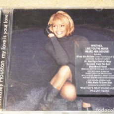 CDs de Música: WHITNEY HOUSTON ( MY LOVE IS YOUR LOVE ) USA-1998 CD. Lote 84197732