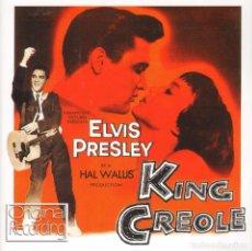 CDs de Música: MUSICA GOYO - CD ALBUM - ELVIS PRESLEY - KING CREOLE - EDICION INGLESA - RARO *AA98. Lote 84292420
