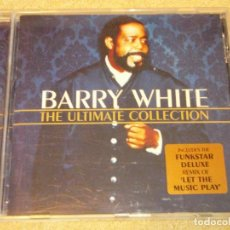 CDs de Música: BARRY WHITE ( THE ULTIMATE COLLECTION ) 2000-USA CD. Lote 84322324