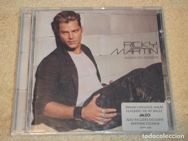 RICKY MARTIN ( ALMAS DEL SILENCIO ) 2003-AUSTRIA CD (Música - CD's Disco y Dance)
