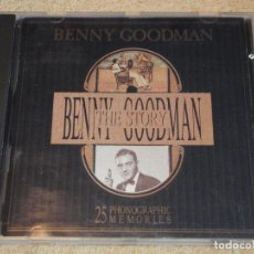 CDs de Música: BENNY GOODMAN ( THE BENNY GOODMAN STORY ) 1989-ITALY CD. Lote 84364172