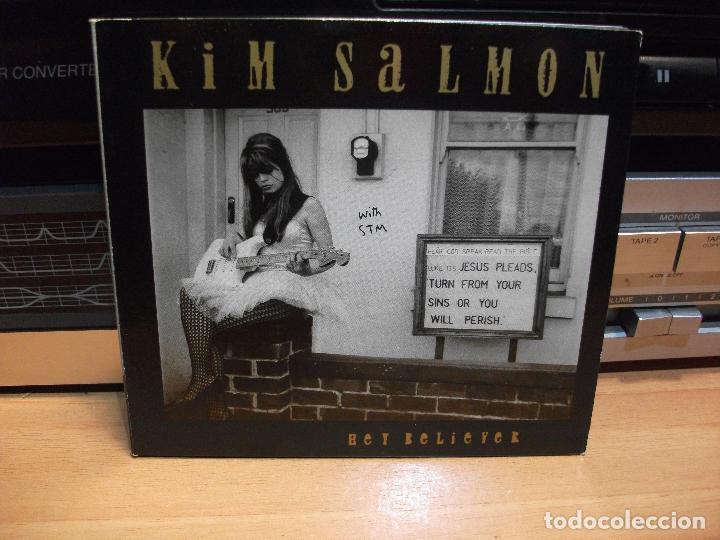 KIM SALMON - BEATS OF BOURBON - HEY BELIEVER CD ALBUM AUSTRALIA 1994 PDELUXE (Música - CD's Pop)