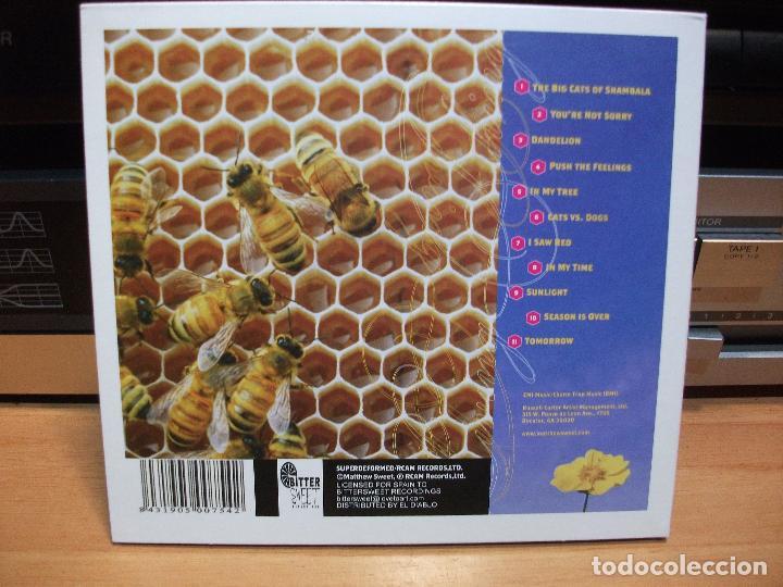 CDs de Música: MATTHEW SWEET LIVING THINGS CD ALBUM SPAIN 2002 PDELUXE - Foto 2 - 84375304