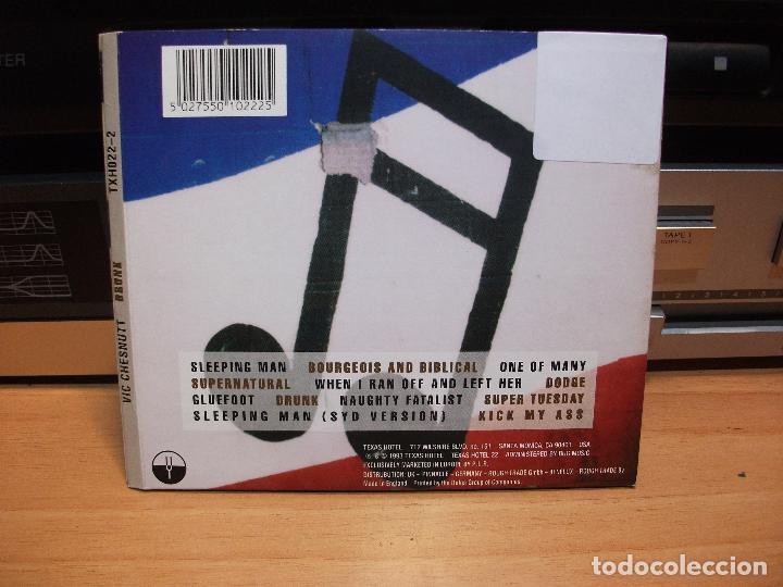 CDs de Música: VIC CHESNUTT DRUNK CD ALBUM UK 1993 PDELUXE - Foto 2 - 84375464