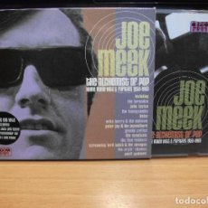 CDs de Música: JOE MEEK / SD / THE ALCHEMIST OF POP CD UK 2002 PDELUXE. Lote 84375580