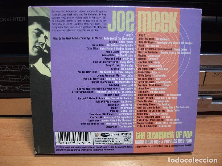 CDs de Música: JOE MEEK / SD / THE ALCHEMIST OF POP CD UK 2002 PDELUXE - Foto 2 - 84375580