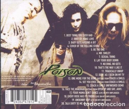 CDs de Música: Poison - Crack A Smile And More! - CD Precintado - Foto 2 - 84429416