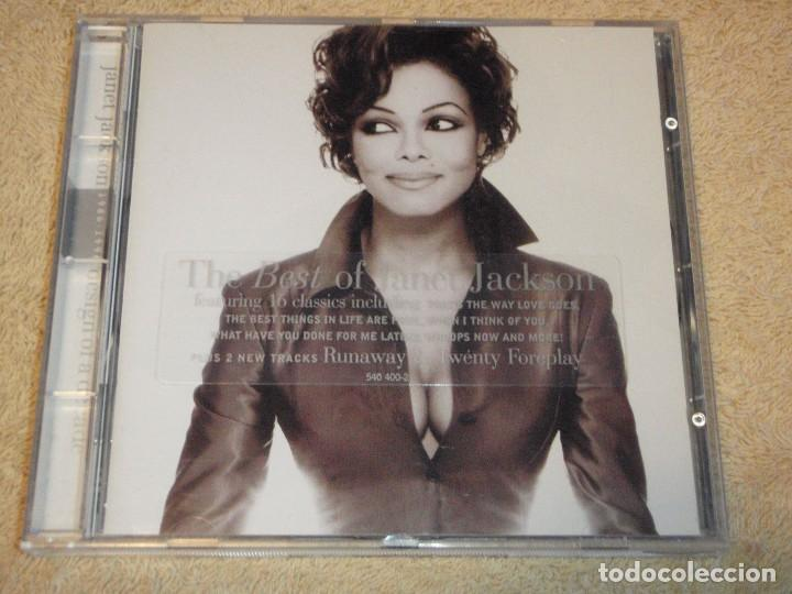 JANET JACKSON ( THE BEST OF JANET JACKSON ) DESING OF A DECADE 1986/1996 CD (Música - CD's Disco y Dance)