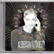 CDs de Música: ALBERTO VAZQUEZ RECORDANDO EUROVISION CD ALBUM 2017 FIRMADO POR EL ARTISTA LA JAULA DE GRILLOS. Lote 98162212