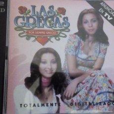 CDs de Música: LAS GRECAS POR SIEMPRE GRECAS 2XCDS LIBRETO. Lote 84457124