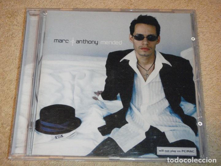 MARC ANTHONY ( MENDED ) 2002-AUSTRIA CD (Música - CD's Latina)