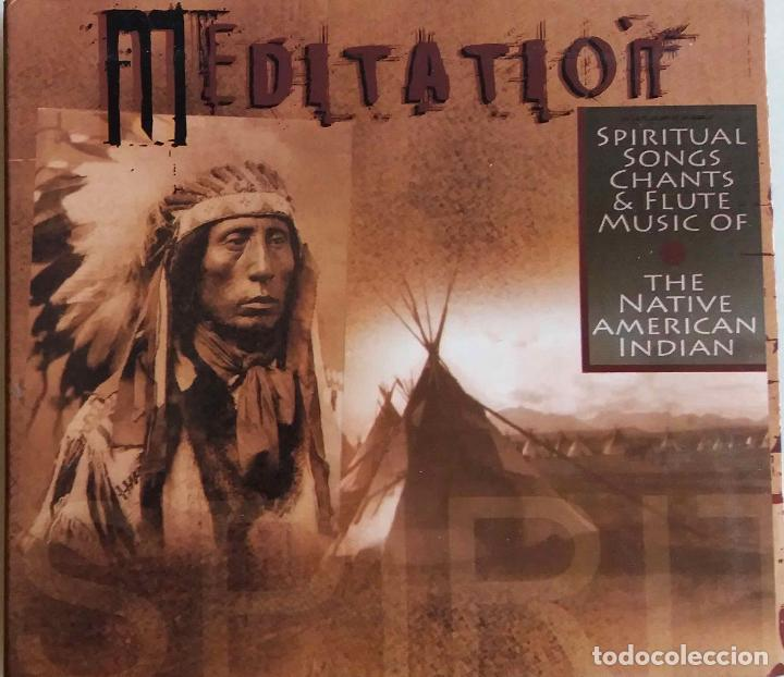 MEDITATION  SPIRITUAL SONGS CHANTS OF NATIVE AMERICAN INDIAN CD DIGIPACK