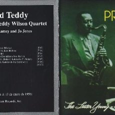 CD di Musica: LESTER YOUNG.TEDDY WILSON. PRESS AND TEDDY. CD. Lote 84494488