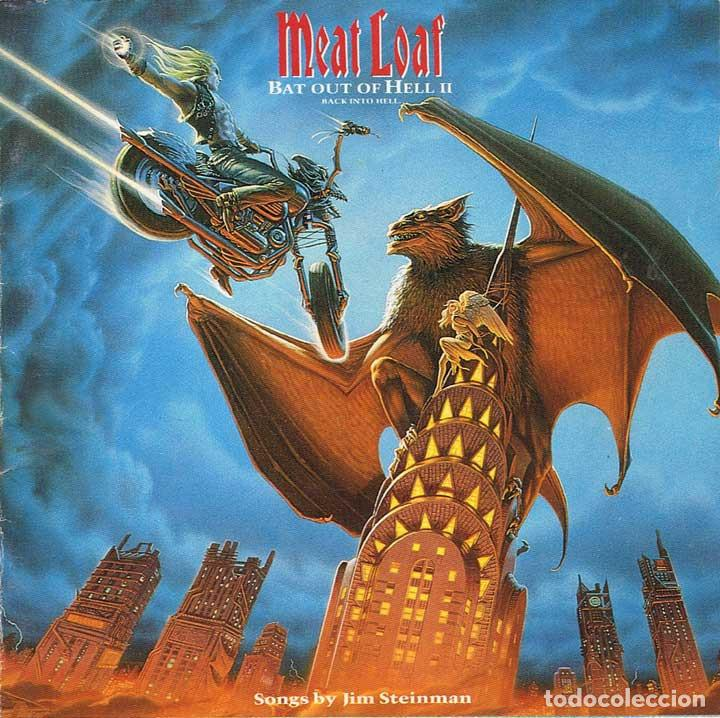 MEAT LOAF - BAT OUT OF HELL II: BACK INTO HELL - VIRGIN 1993 (Música - CD's Heavy Metal)