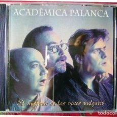 CDs de Música: ACADEMICA PALANCA.EL MISTERIO DE LAS VOCES VULGARES.....RARO Y .ESCASO. Lote 84561640