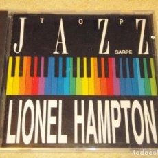 CDs de Música: LIONEL HAMPTON SEPTETTE ( TOP JAZZ ) 1990 CD. Lote 84569412
