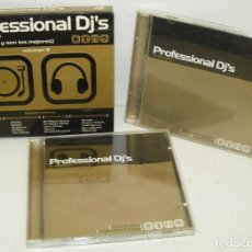 CDs de Música: 4CD PROFESSIONAL DJ'S IN SESSION VOL. 3,DANCE,PROGRESSIVE,HOUSE,TECHNO,MÁQUINA,HARDCORE,TRANCE. Lote 84609844