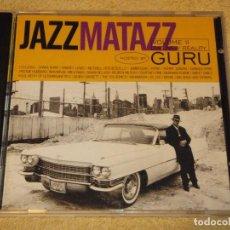 CDs de Música: JAZZMATAZZ VOLUME II ( THE NEW REALITY HOSTED BY GURU ) 1995-USA CD. Lote 84643948