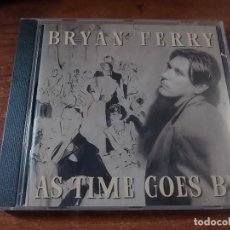 CDs de Música: BRYAN FERRY AS TIME GOES BY. Lote 84670208