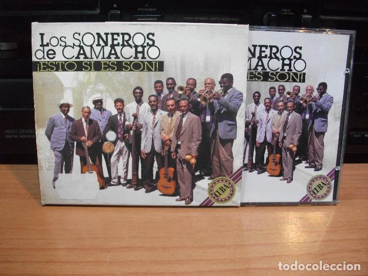 LOS SONEROS DE CAMACHO ESTO SI ES SON CD SPAIN 1987 PDELUXE (Música - CD's Latina)