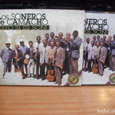 CDs de Música: LOS SONEROS DE CAMACHO ESTO SI ES SON CD SPAIN 1987 PDELUXE. Lote 84726560