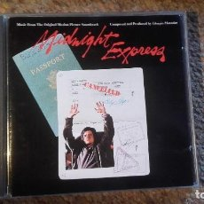 CDs de Música: MIDNIGHT EXPRESS , BSO , CD 1990 IMPECABLE. Lote 84839244