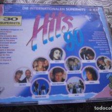 CDs de Música - CD .DOBLE. VARIOS - HITS 90 (NEW) - 84845492