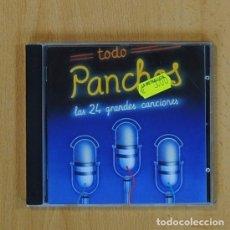 CDs de Música: PANCHOS - TODO PANCHOS LAS 24 GRANDES CANCIONES - CD. Lote 84865970