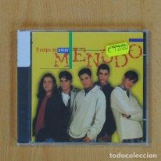 CDs de Música: TIEMPO DE AMAR - MENUDO - CD. Lote 84867118