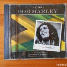 CDs de Música: CD BOB MARLEY - CD 3 - JAMAICAN LEGENDS - TRUE RASTAFARI (1H). Lote 84908548