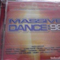 CDs de Música: CD. DOBLE. VARIOS - MASSIVE DANCE 98 ( NEW ). Lote 84908708