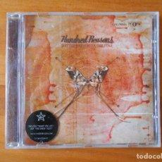 CDs de Música: CD HUNDRED REASONS - SHATTERPROOF IS NOT A CHALLENGE (1J). Lote 84921564