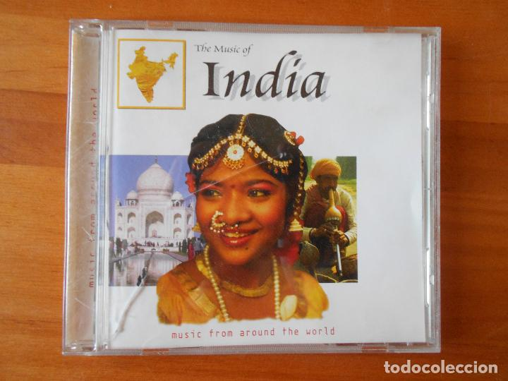 CD THE MUSIC OF INDIA - MUSIC FROM AROUND THE WORLD (1K) (Música - CD's World Music)