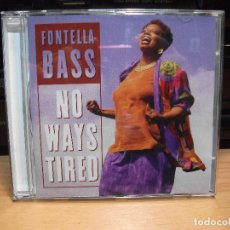 CDs de Música: FONTELLA BASS NO WAYS TIRED CD GERMANY 1995 PDELUXE. Lote 84965240