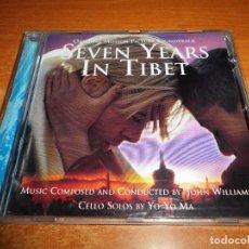 CDs de Música: SEVEN YEARS IN TIBET BANDA SONORA CD ALBUM 1997 AUSTRIA JOHN WILLIAMS CELLO SOLOS BY YO-YO MA. Lote 211651091