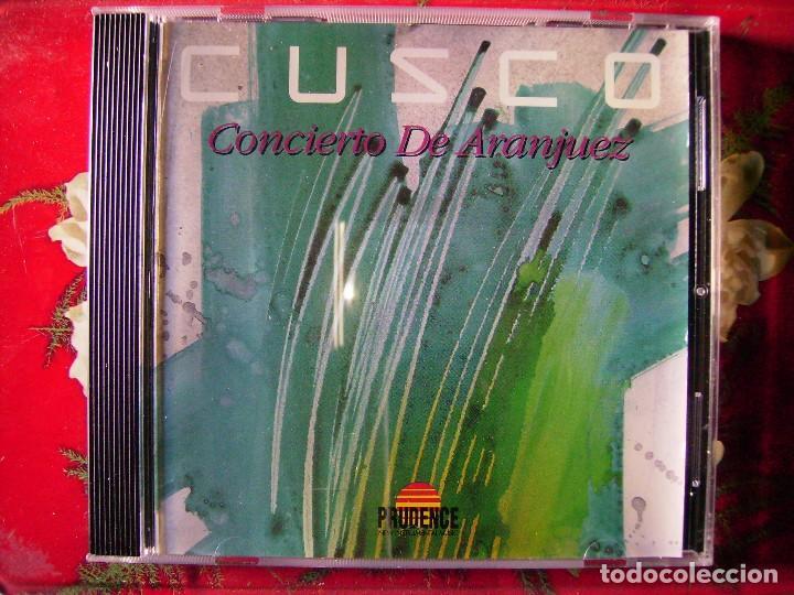 CUSCO.CONCIERTO DE ARANJUEZ...RARO ELECTRONICA..BUEN PRECIO (Música - CD's New age)