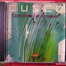 CDs de Música: CUSCO.CONCIERTO DE ARANJUEZ...RARO ELECTRONICA..BUEN PRECIO. Lote 84979024