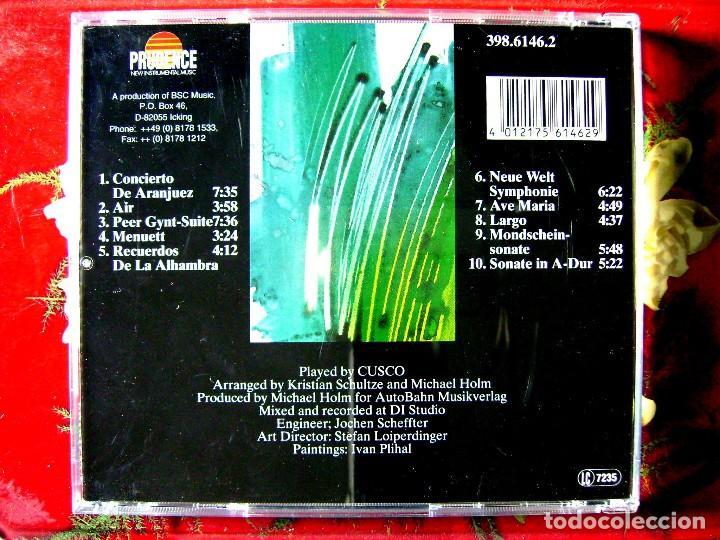CDs de Música: CUSCO.CONCIERTO DE ARANJUEZ...RARO ELECTRONICA..BUEN PRECIO - Foto 2 - 84979024